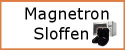 Magnetron sloffen
